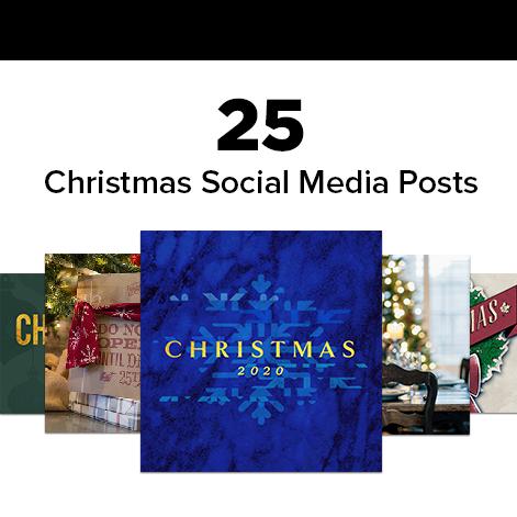 25 Christmas Social Media Posts