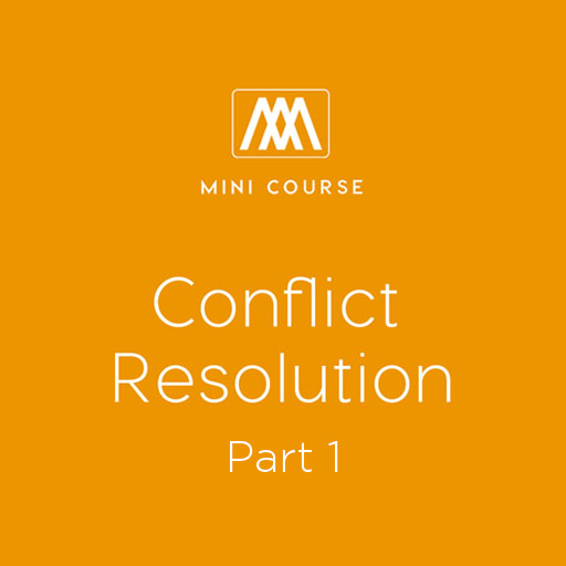 Conflict Resolution - Part 1