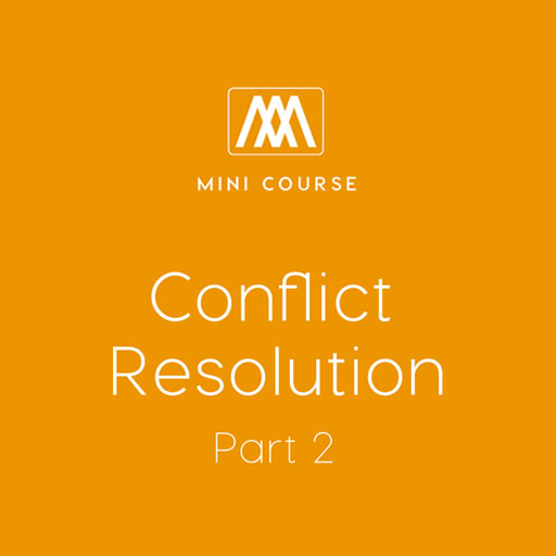 Conflict Resolution - Part 2