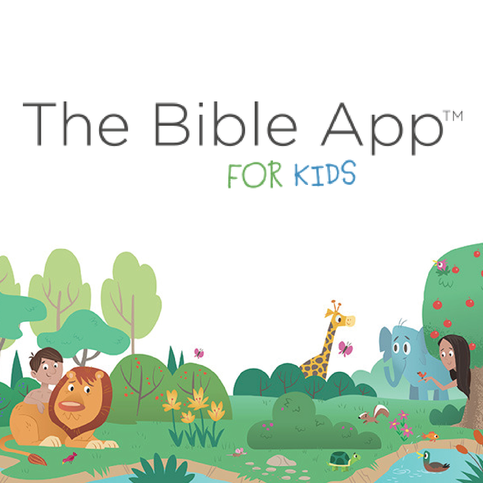 Bible App for Kids Marketing Images