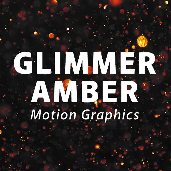 Glimmer Amber Motion Background