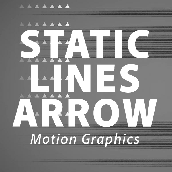 Static Lines + Arrows Gray Motion Background