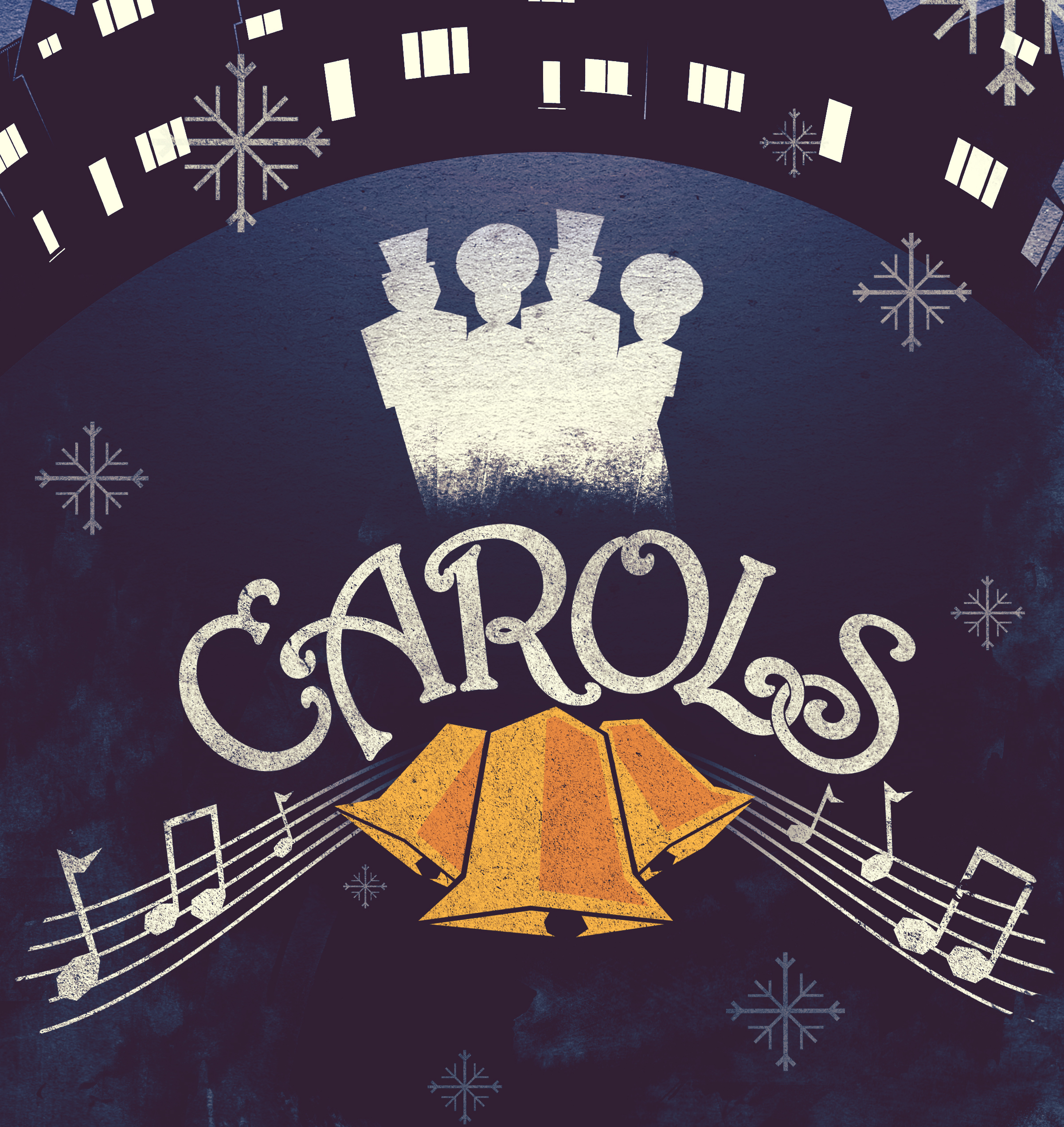 Carols Christmas Album and Stems