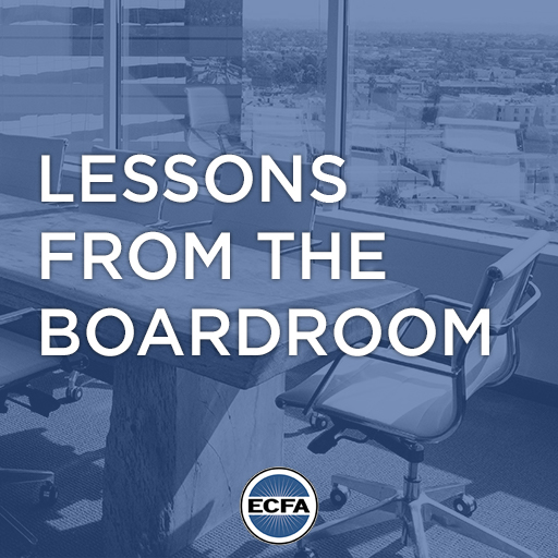 Lessons from the Boardroom