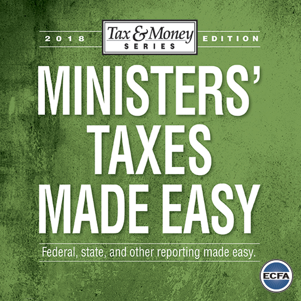 Minister's Taxes Made Easy [eBook]