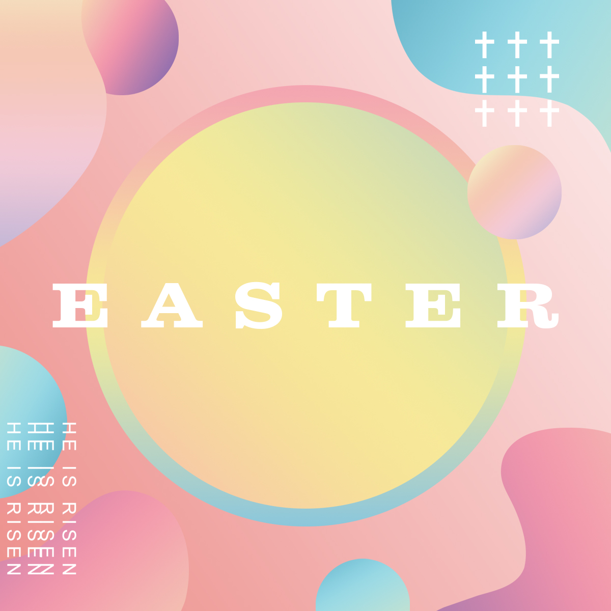 Easter Pastel Graphics