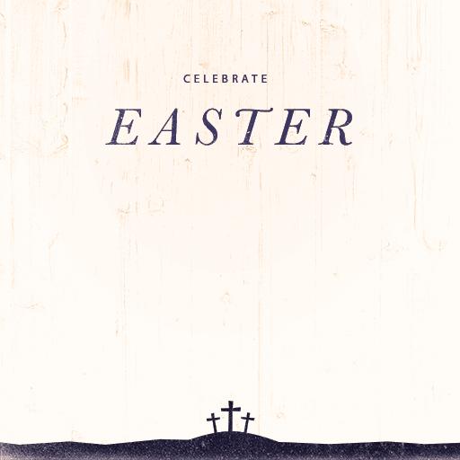 Easter: Calvary Silhouette