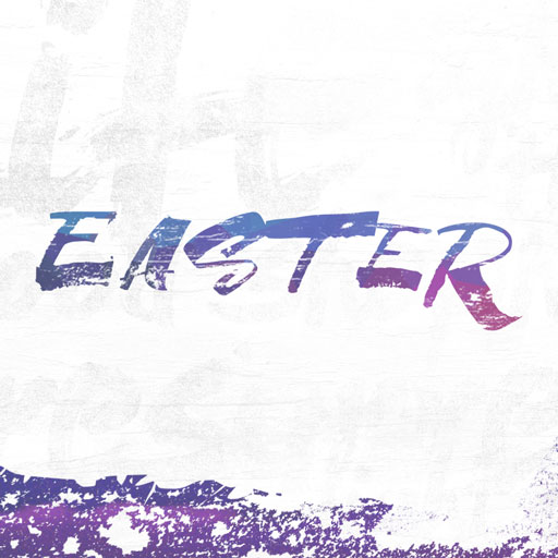 Easter: Indigo Stamp