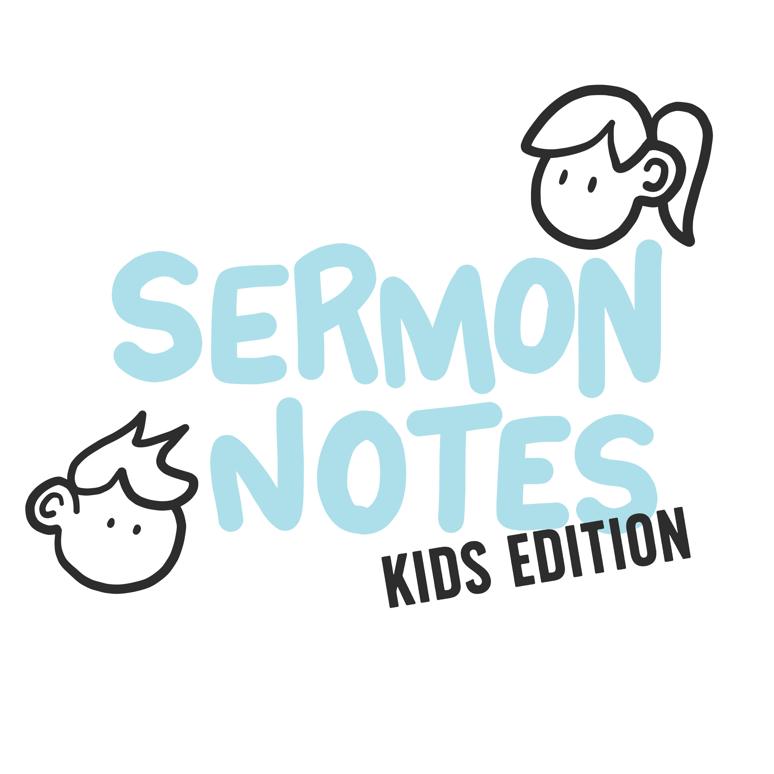 Sermon Notes Kids Edition