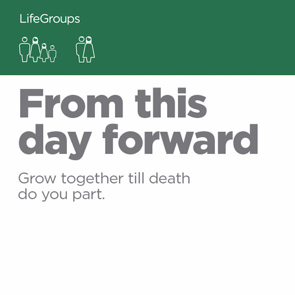 From This Day Forward - Small Groups