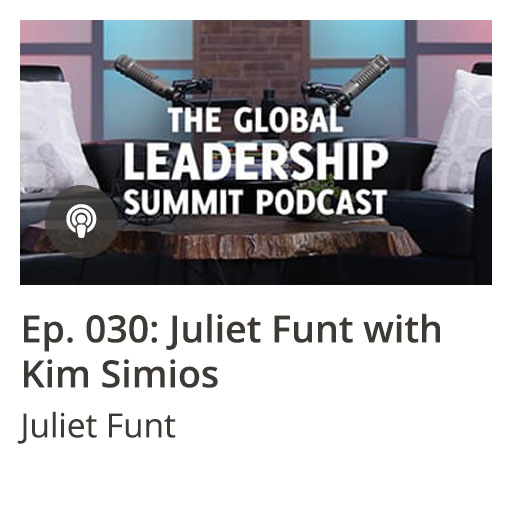 GLS Podcast Ep 030: Juliet Funt with Kim Simios