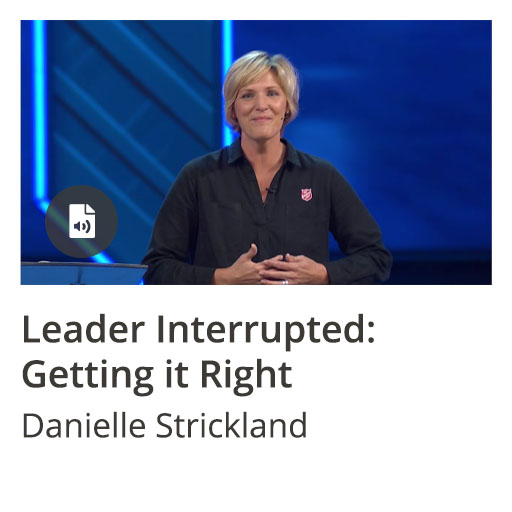 Leader Interrupted: Getting it Right