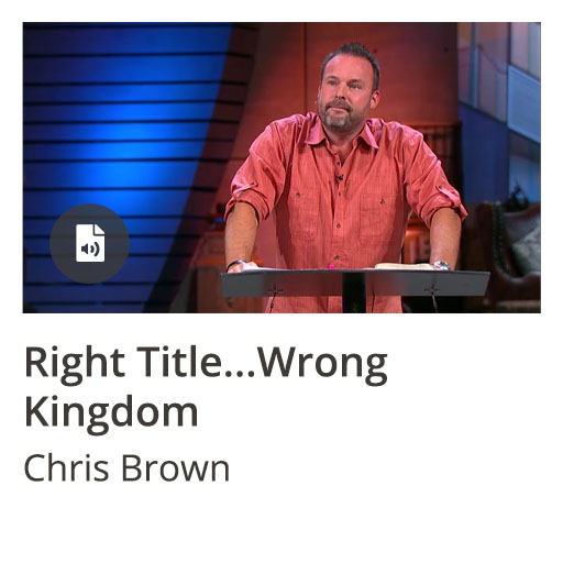 Right Title...Wrong Kingdom