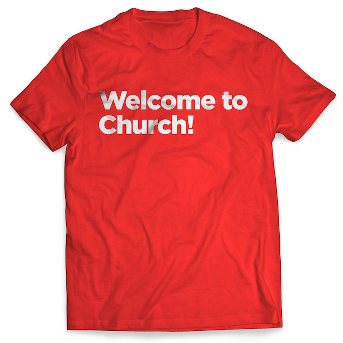 """Welcome"" Shirt"