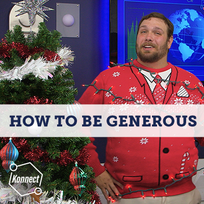 How to Be Generous - Konnect HQ