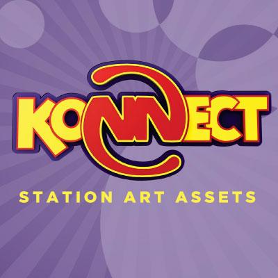 Konnect Station Art Assets