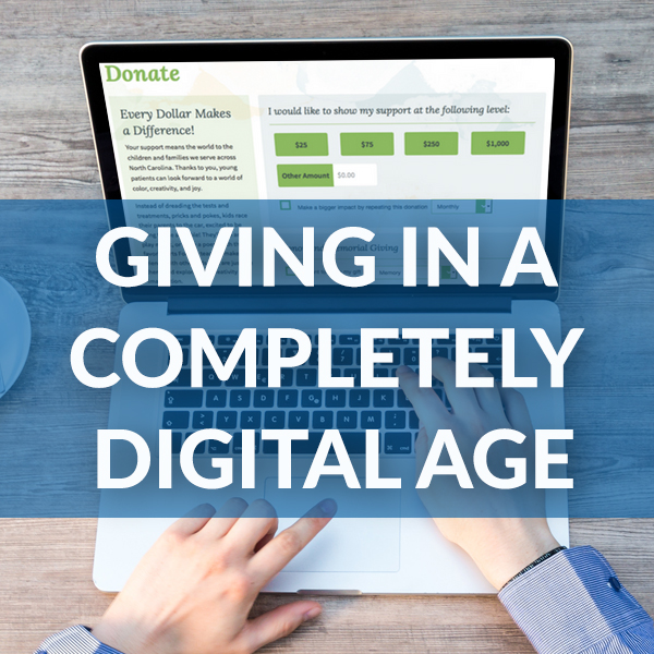 E-book: Giving in a Completely Digital Age