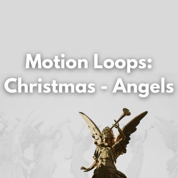 Motion Loops: Christmas - Angels