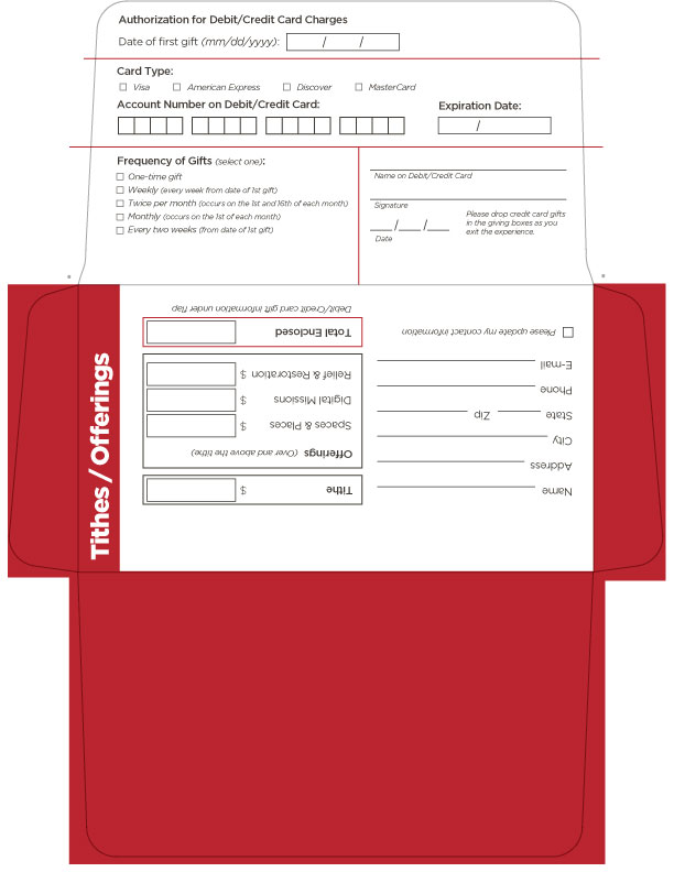 Offering Envelope Creative Free Church Resources From LifeChurch - Church offering envelopes templates free