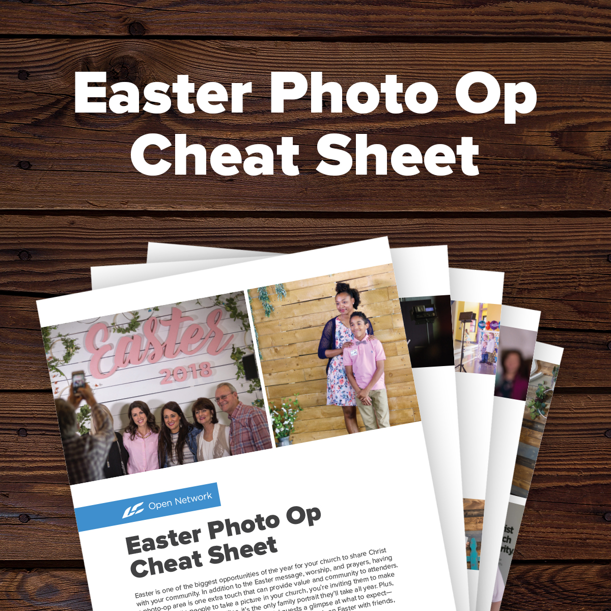 Easter Photo Op Cheat Sheet