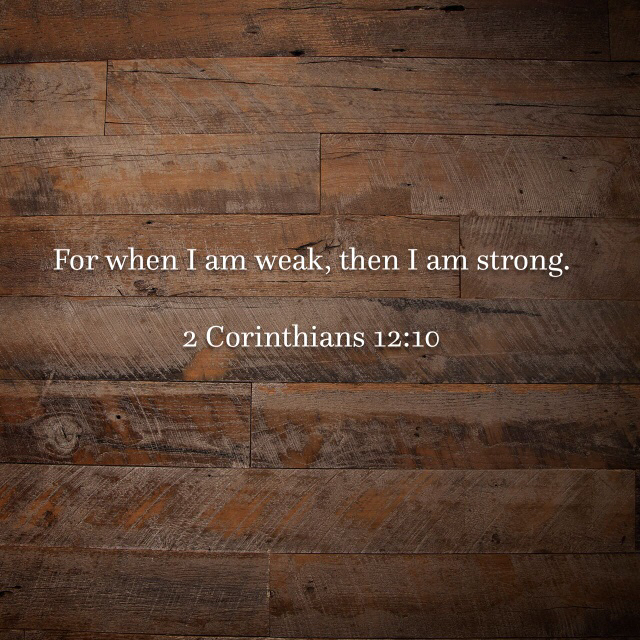 2 Corinthians 12:10