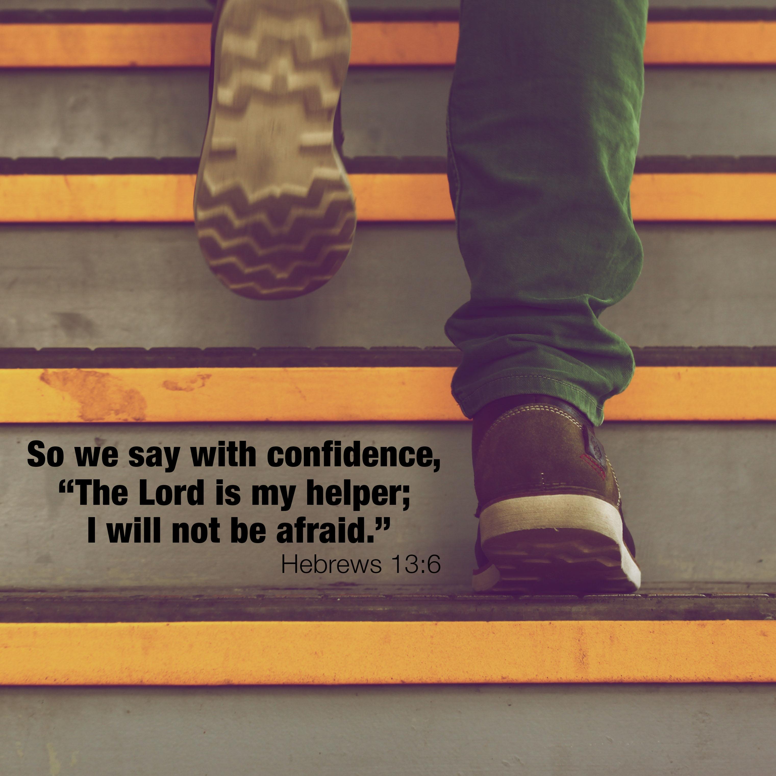 Hebrews 13:6