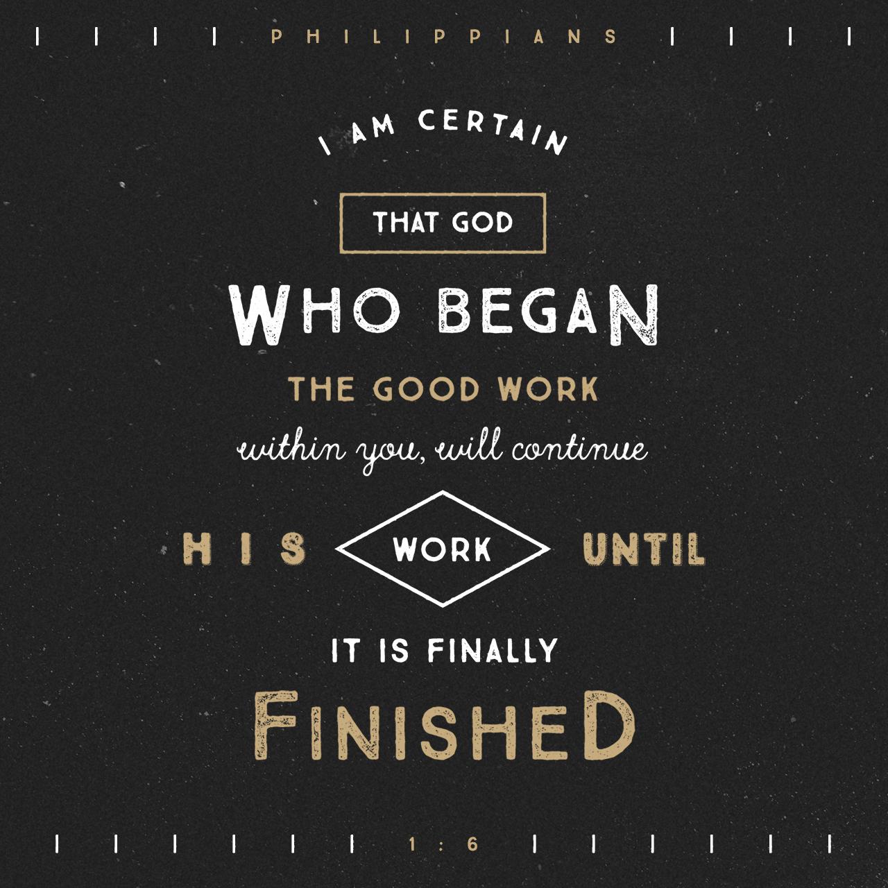 Philippians 1:6