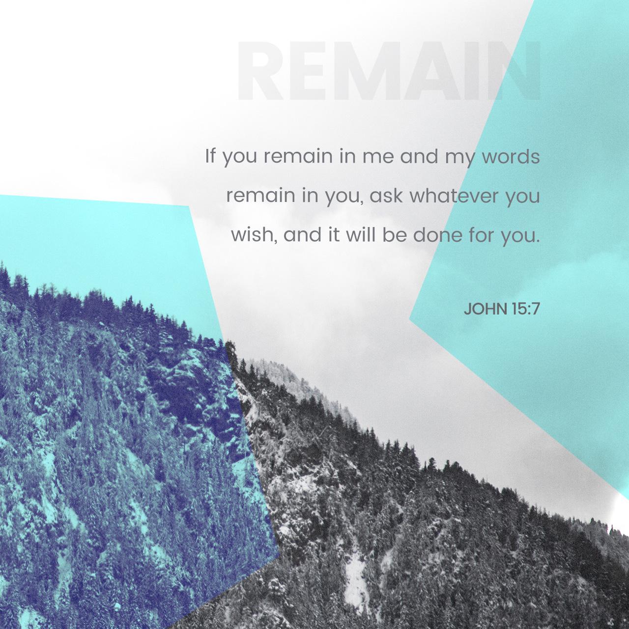 John 15:7