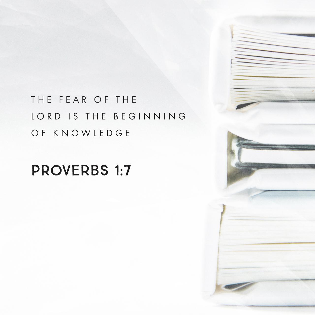 Proverbs 1:7 | Creative | Scripture Art | Free Church