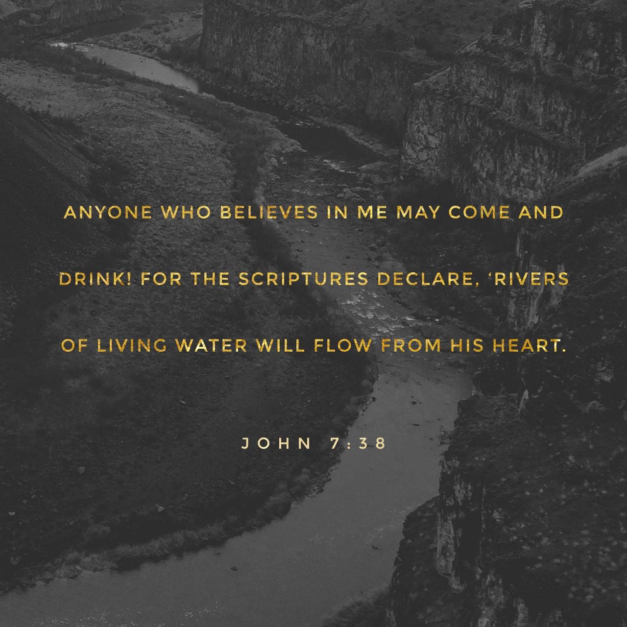 John 7:38