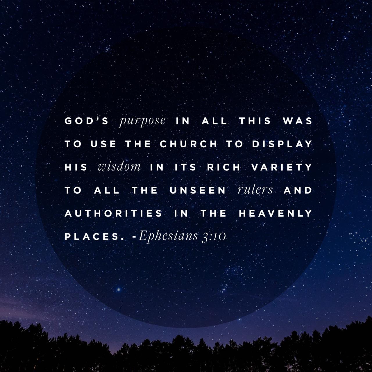 Ephesians 3:10