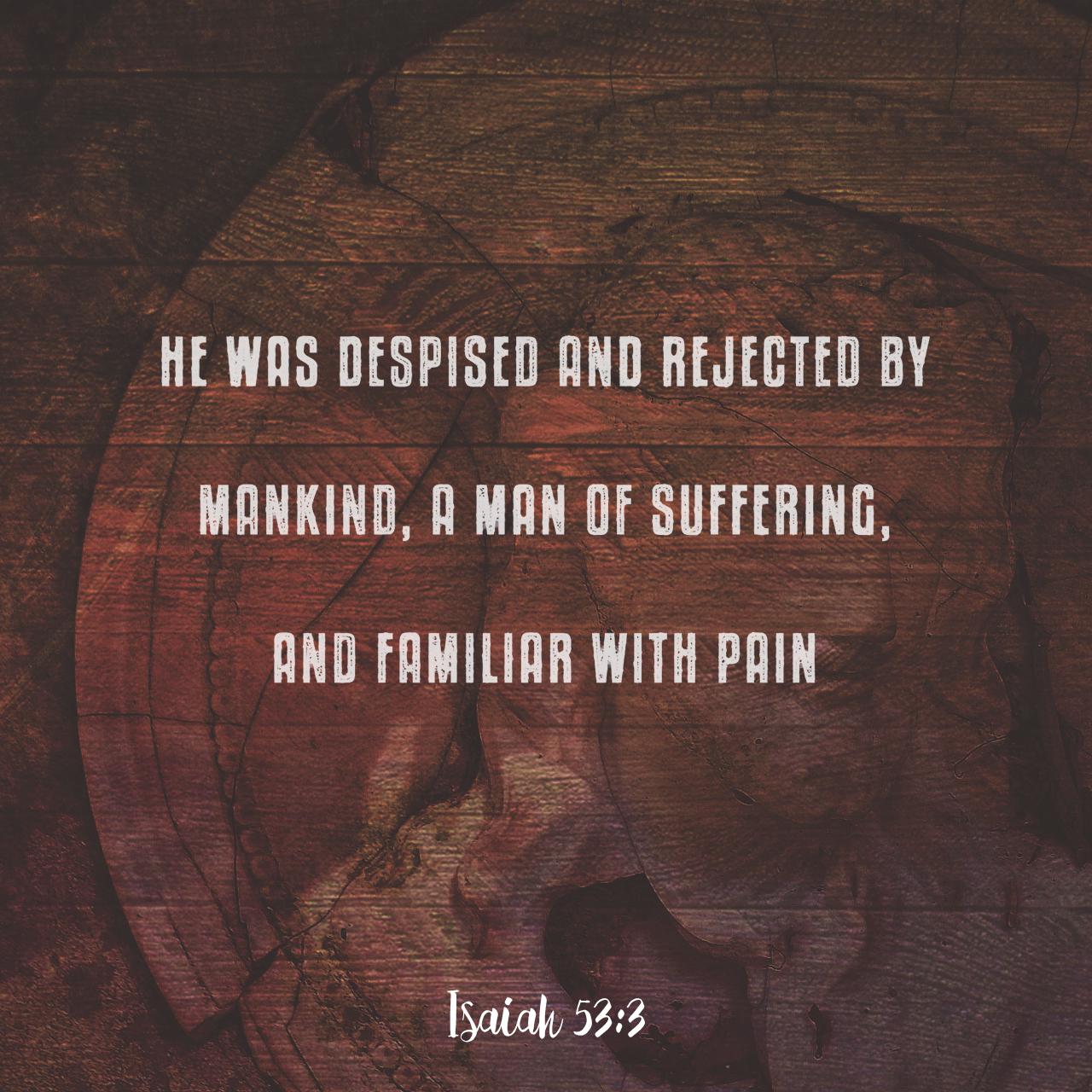 Isaiah 53:3