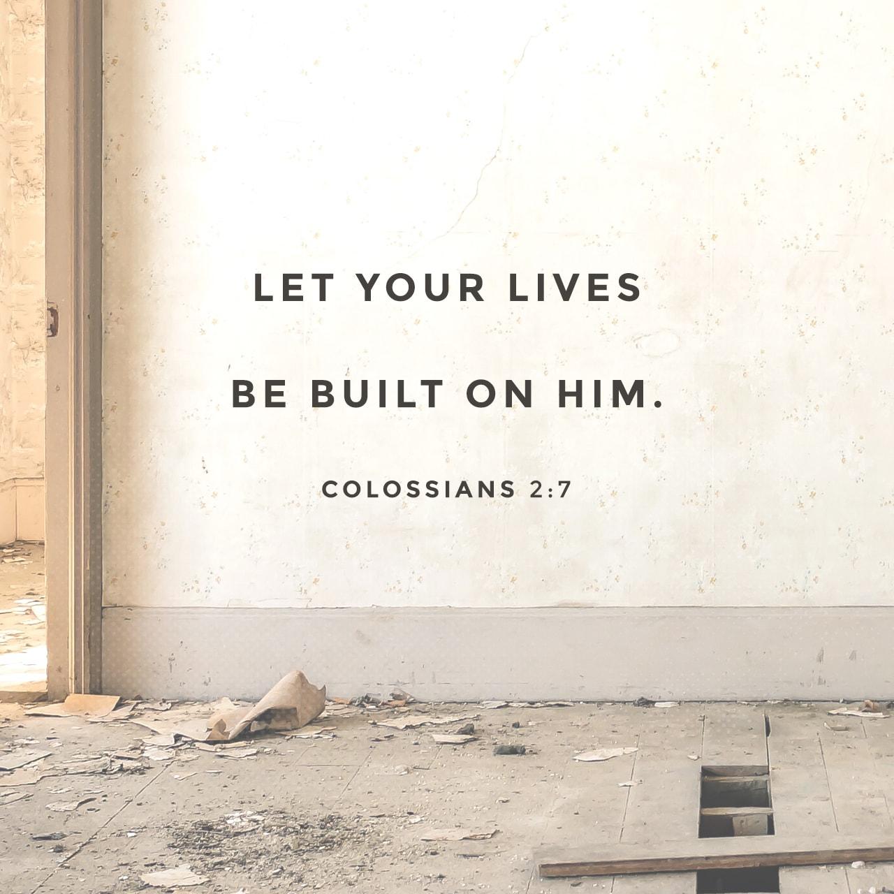 Colossians 2:7