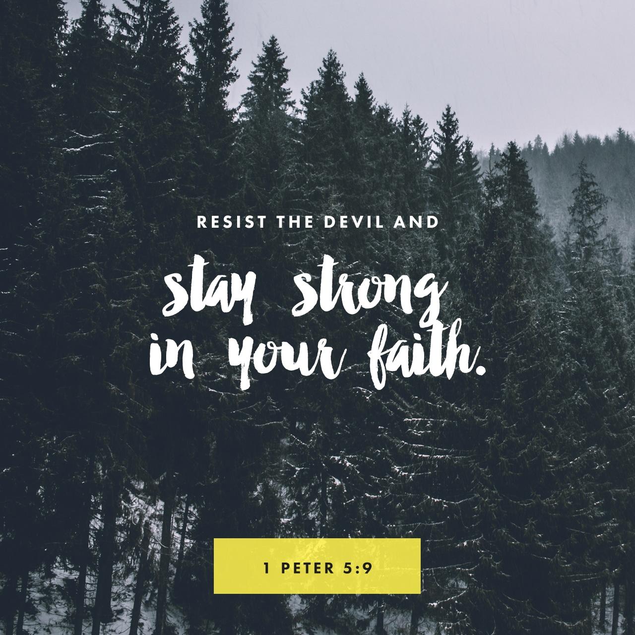 1 Peter 5:9