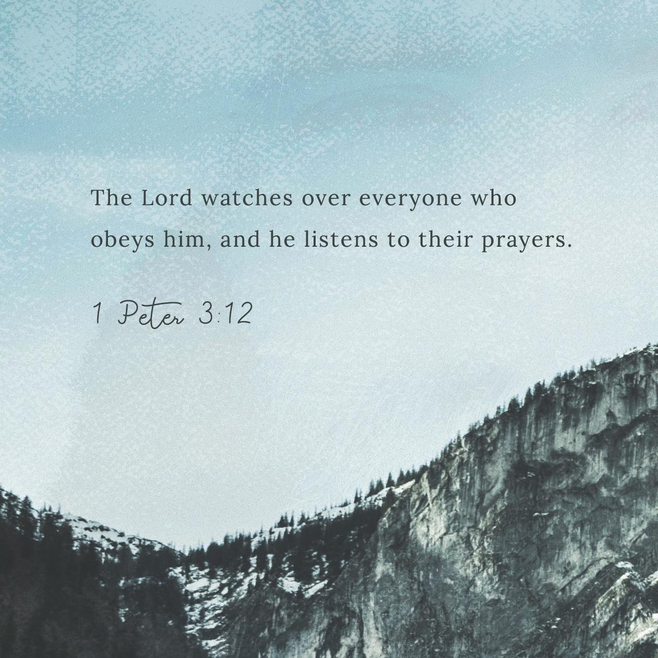1 Peter 3:12