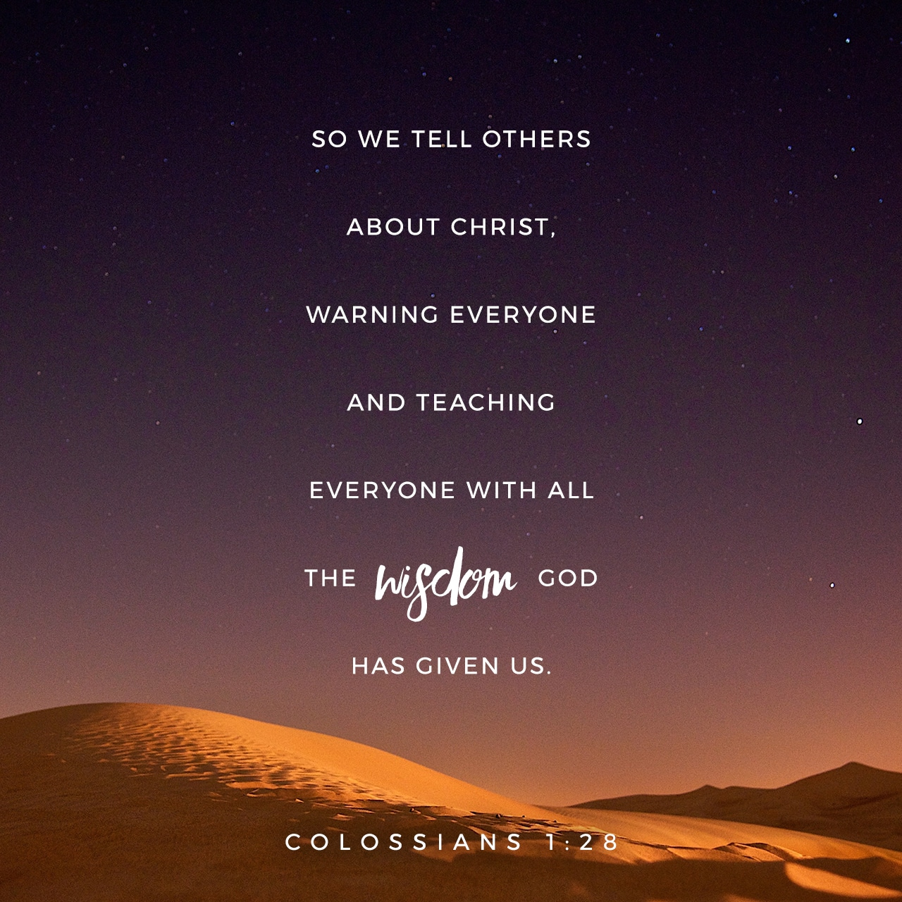 Colossians 1:28