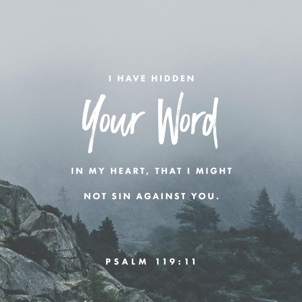 Psalm 119:11 | Creative | Scripture Art | Free Church