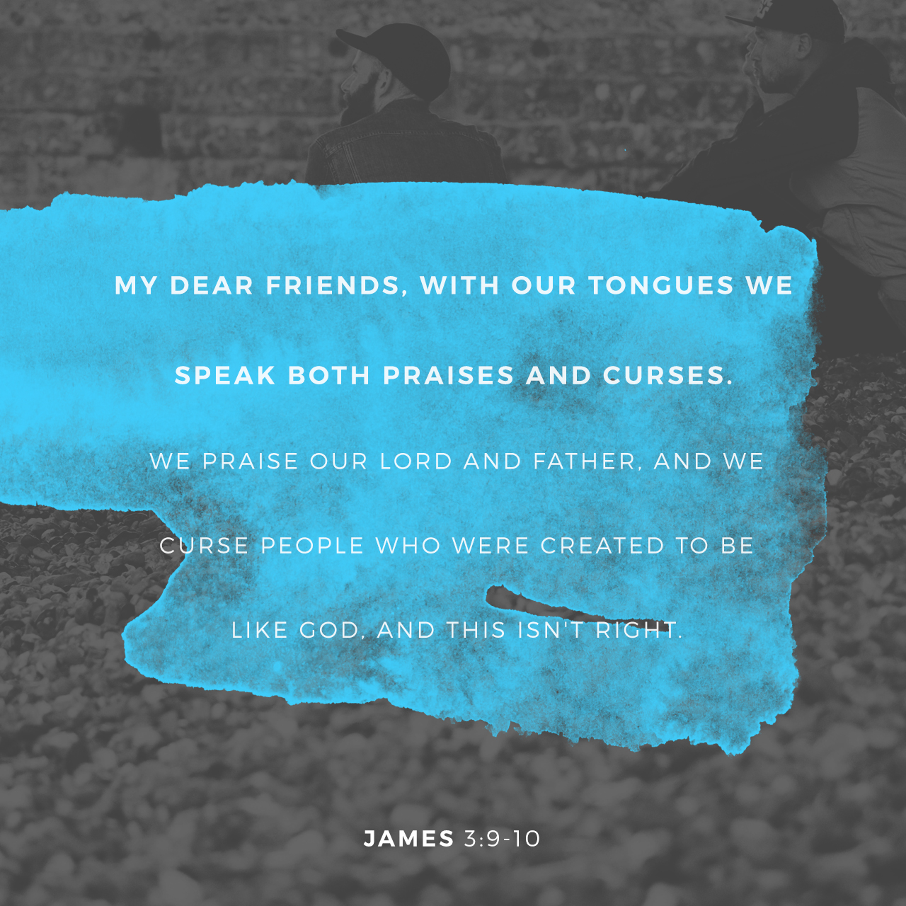 James 3:9