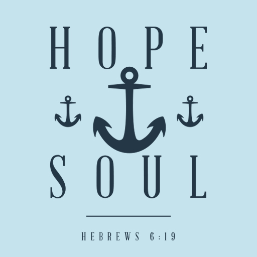 """Hope Anchor Soul"" Shirt Art"