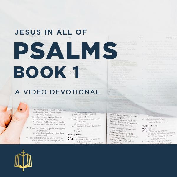 Jesus In All of Psalms Book 1