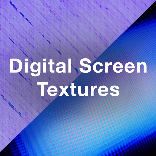 Stock Videography: Digital Screen Textures