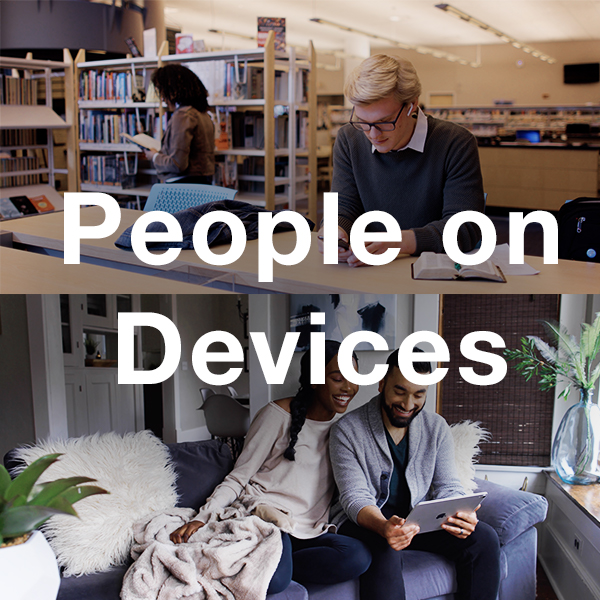 Stock Videography: People on Devices