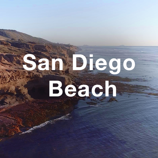 Stock Videography: San Diego Beach