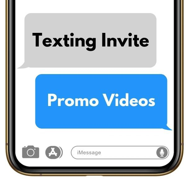 Texting Invite Promo Videos