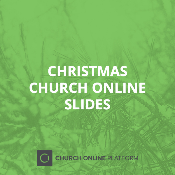 Church Online Christmas Slide Pack