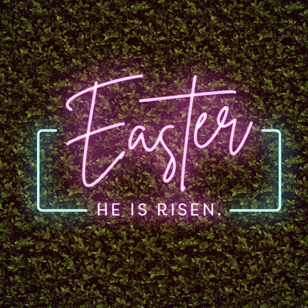 Easter Neon Lights
