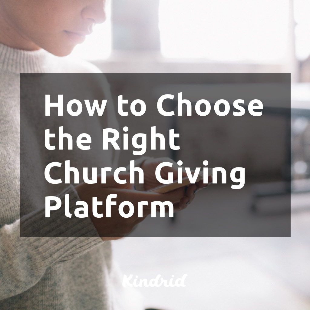 How to Choose the Right Church Giving Platform