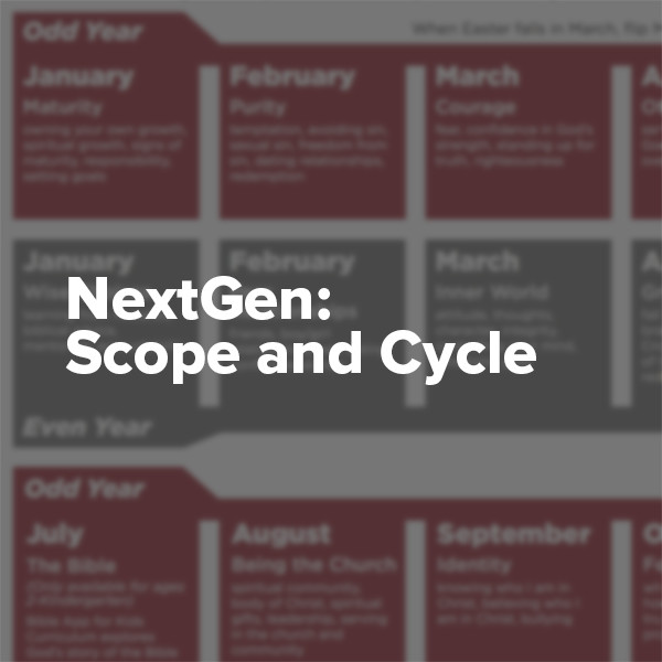 NextGen: Scope and Cycle