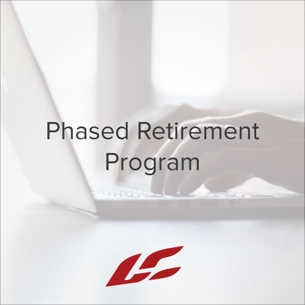 Phased Retirement Program  Operations  Human Resources  Free
