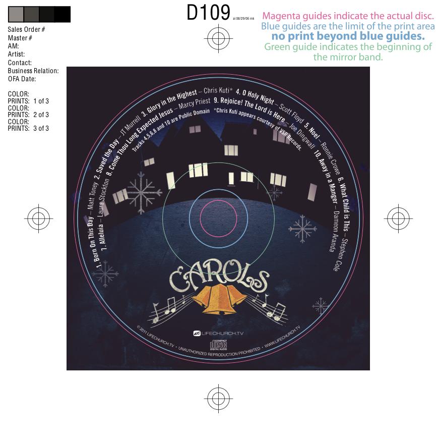 CD Art Disc (PSD)